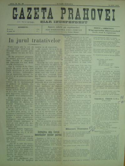 Gazeta Prahovei, Anul II, No.48
