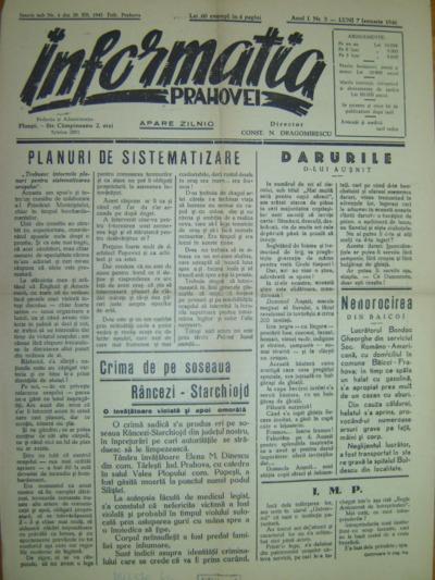 Informația Prahovei, Anul I, No.3