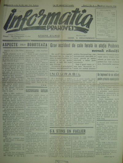 Informația Prahovei, Anul I, Nr.4