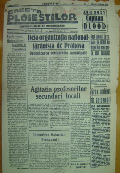 Gazeta Ploieștilor, Anul I, Nr.4