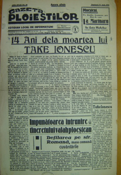 Gazeta Ploieștilor, An I, No. 88