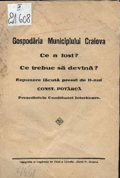 Gospodăria Municipiului Craiova