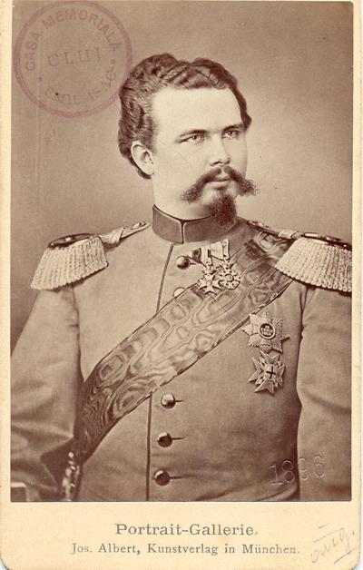 Portret al regelui Ludovic al II-lea al Bavariei