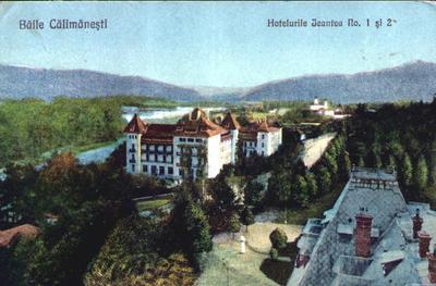 Băile Călimăneşţi - Hotelurile Jantea No. 1 şi 2