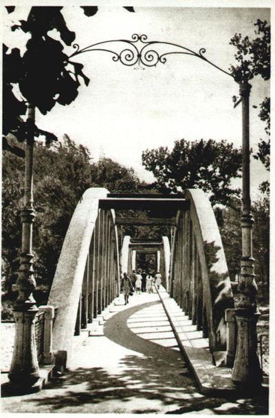 Călimănești-Podul către Ostrov
