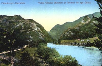 Călimănești-Valea Oltului Bivolari și Izvorul de apă caldă