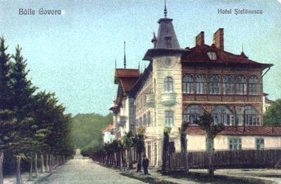 Băile Govora-Hotel Ștefănescu