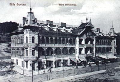 Băile Govora - Hotel Ștefănescu