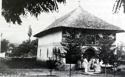 Biserica veche din Călimănești-Vâlcea