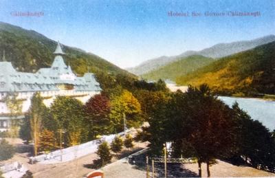 Călimănești - Pavilionul central
