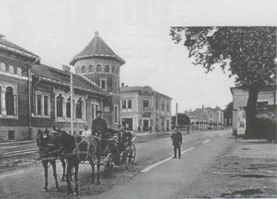 Palatul Poștei și Hotel Bulevard - Rm. Vâlcea