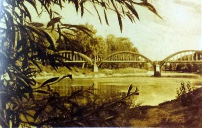 Călimănești-Podul peste Olt la Ostrov