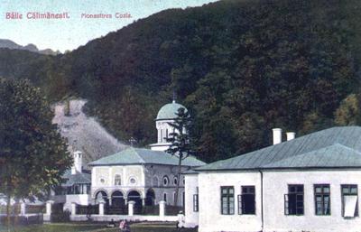 Băile Călimăneşti. Mănăstirea Cozia.