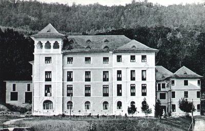 Olănești - Hotelul Băilor
