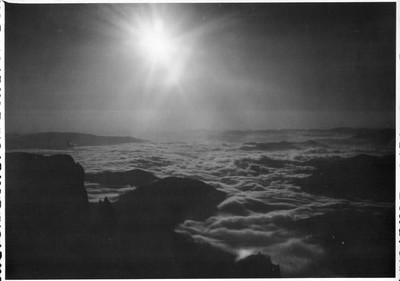 Ceahlău: Mare de nori