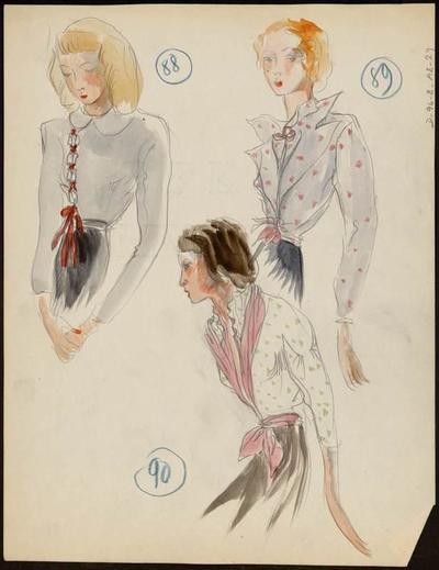 [Modèle de blouse]