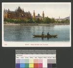 Zürich Rotes Schloss und Tonhalle