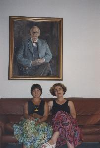 Photo 1 of SWAP, 1993, in color ( 2 Women from Tirana )