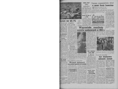 Gazeta Białostocka 1964, nr 10
