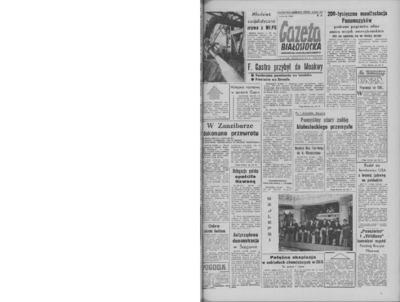 Gazeta Białostocka 1964, nr 11