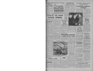 Gazeta Białostocka 1964, nr 29