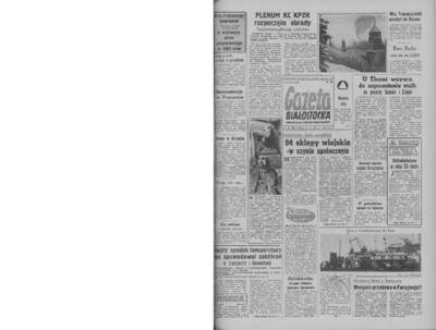 Gazeta Białostocka 1964, nr 35