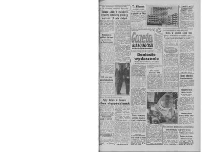 Gazeta Białostocka 1964, nr 49