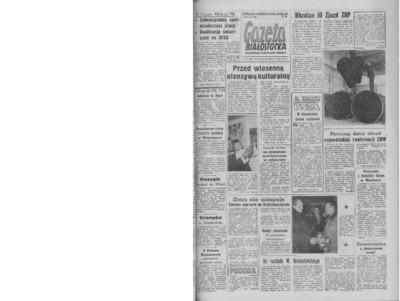 Gazeta Białostocka 1964, nr 66