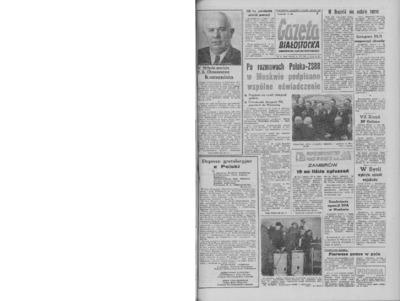 Gazeta Białostocka 1964, nr 91