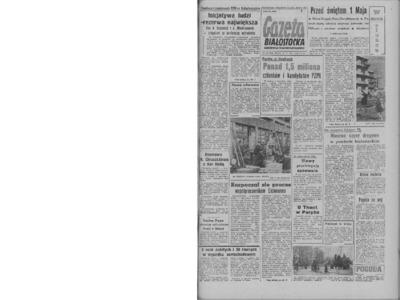 Gazeta Białostocka 1964, nr 100