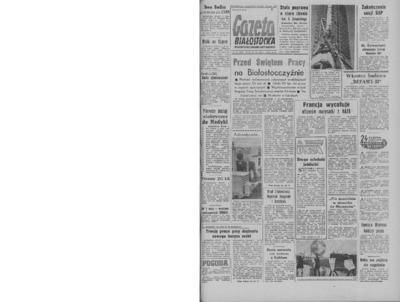Gazeta Białostocka 1964, nr 101