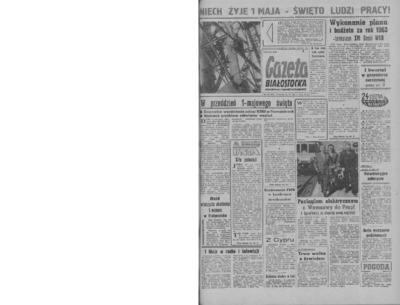 Gazeta Białostocka 1964, nr 102