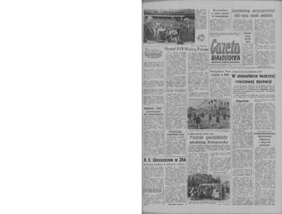 Gazeta Białostocka 1964, nr 110