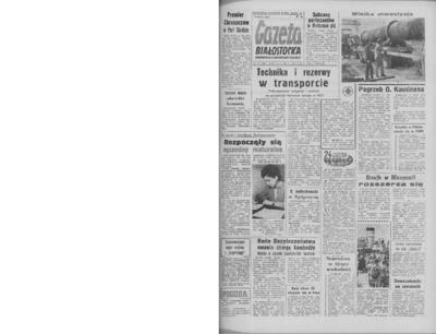 Gazeta Białostocka 1964, nr 118