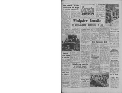 Gazeta Białostocka 1964, nr 124