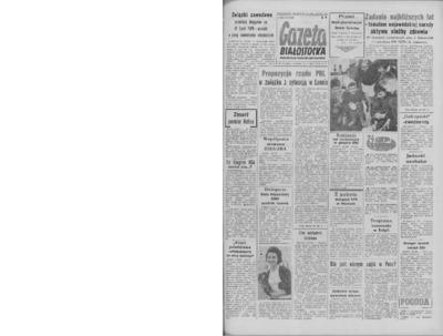 Gazeta Białostocka 1964, nr 126
