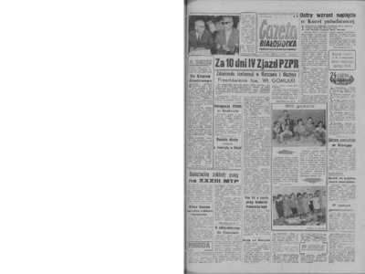 Gazeta Białostocka 1964, nr 133