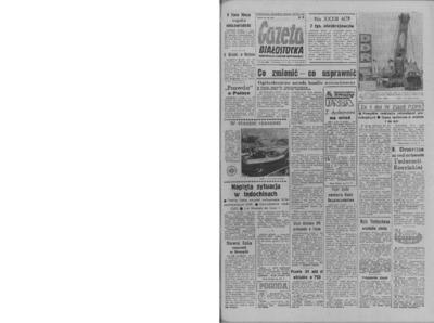 Gazeta Białostocka 1964, nr 138