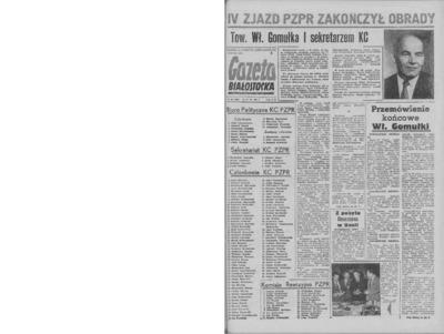 Gazeta Białostocka 1964, nr 147