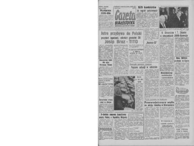 Gazeta Białostocka 1964, nr 149