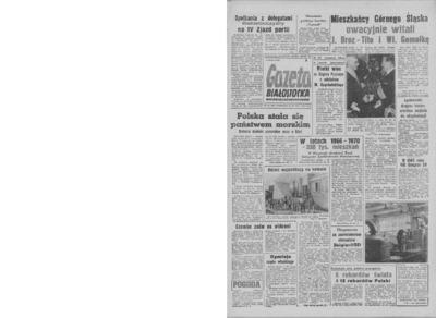 Gazeta Białostocka 1964, nr 153