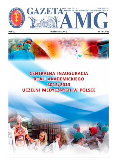 Gazeta AMG, 2012, R. 22, nr 10
