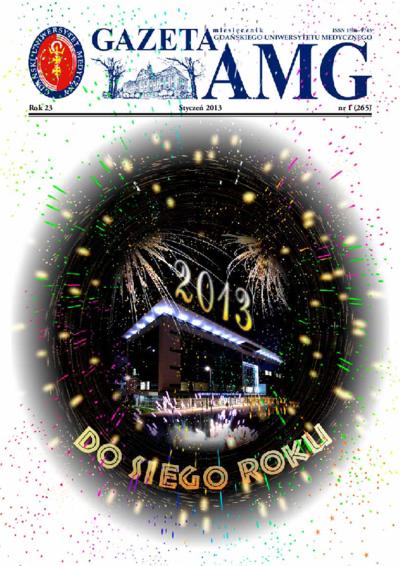 Gazeta AMG, 2013, R. 23, nr 1