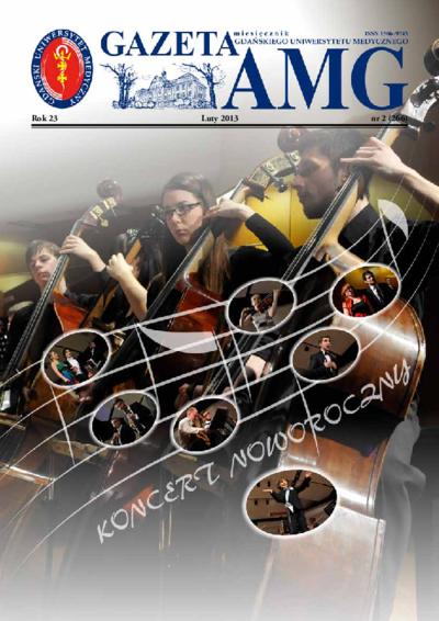 Gazeta AMG, 2013, R. 23, nr 2