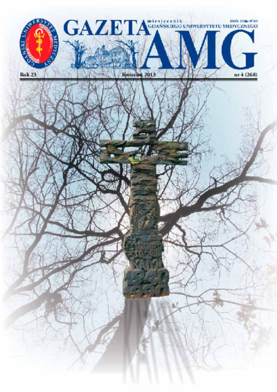Gazeta AMG, 2013, R. 23, nr 4