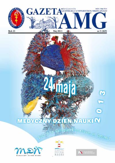 Gazeta AMG, 2013, R. 23, nr 5