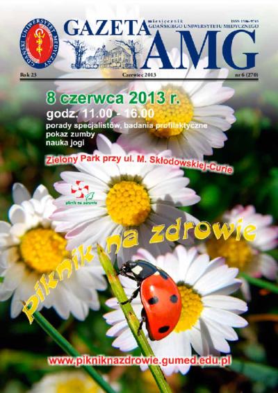 Gazeta AMG, 2013, R. 23, nr 6