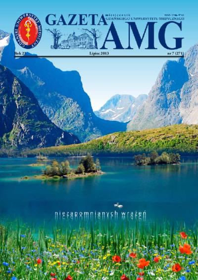 Gazeta AMG, 2001, R. 23, nr 7