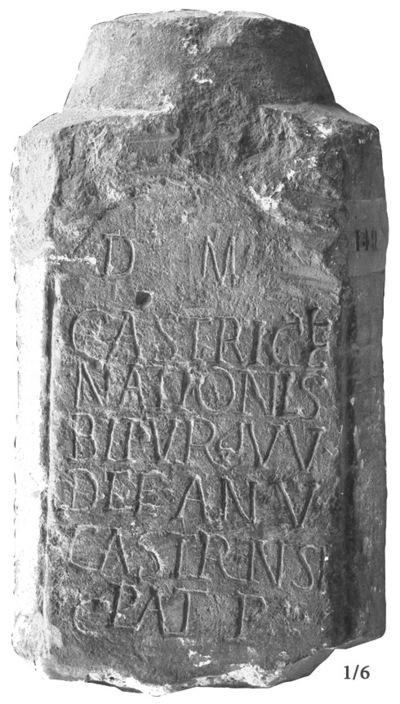 Épitaphe de Castricia