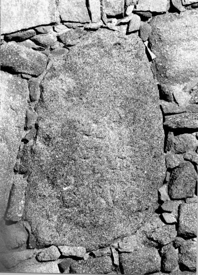 Fragmento conservado en la torre 2